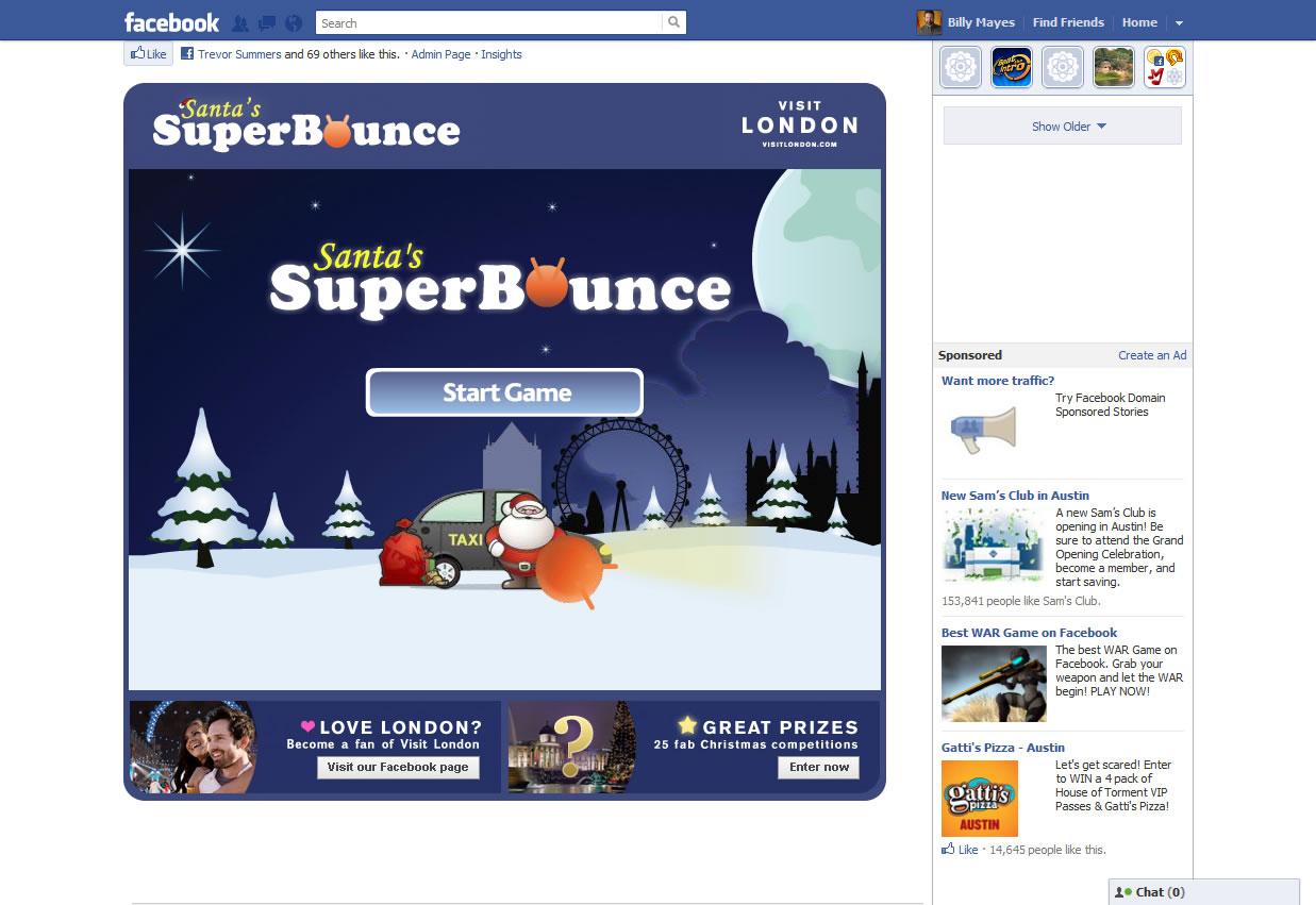 Useful Digital | Santa's SuperBounce